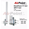 AIRPOINT OP17 4X4 - AIRPO6G17HVM4 ANTENA OMNI 17DBI MIMO 4X4  4 N-MALE